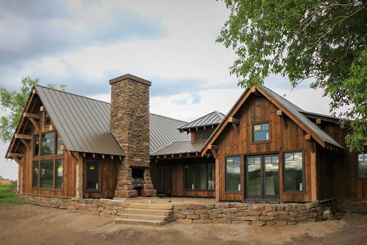 Plan 18846ck Rustic Mountain Ranch House Plan Mountain Ranch House Plans Mountain House Plans Rustic House Plans