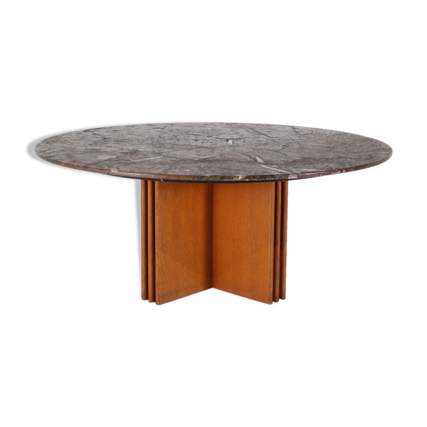 Table Basse En Pierre Fossile Heinz Lilienthal Avec Certificat Table Basse En Pierre Table Basse Et Table