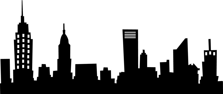 New York Skyline Wall Saying Art Decal Skyline Silhouette