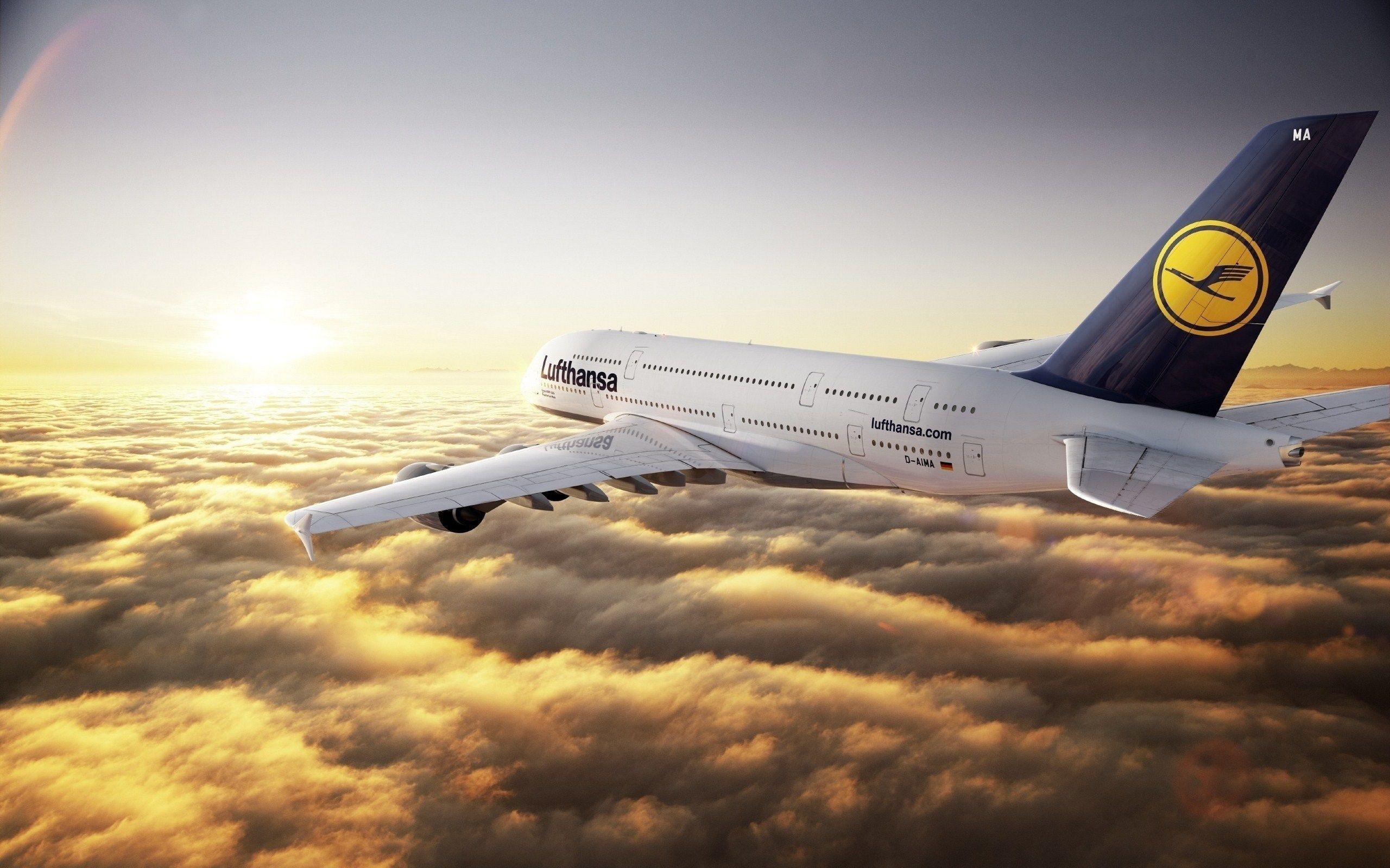28 Airbus A380 HD Wallpapers