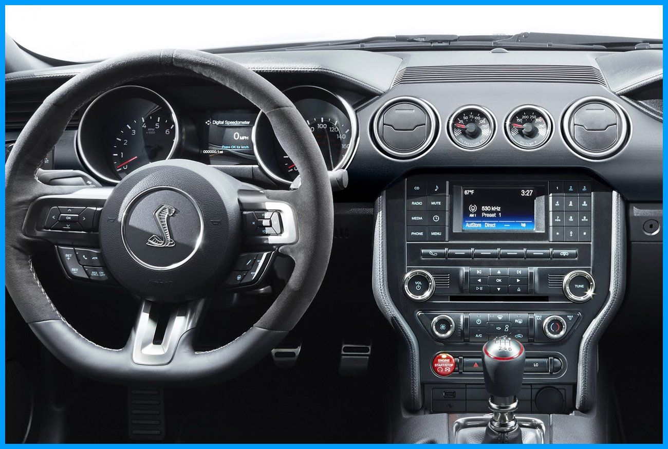 2016 Ford Shelby Gt350 Mustang Interior Dashboard Drivers View