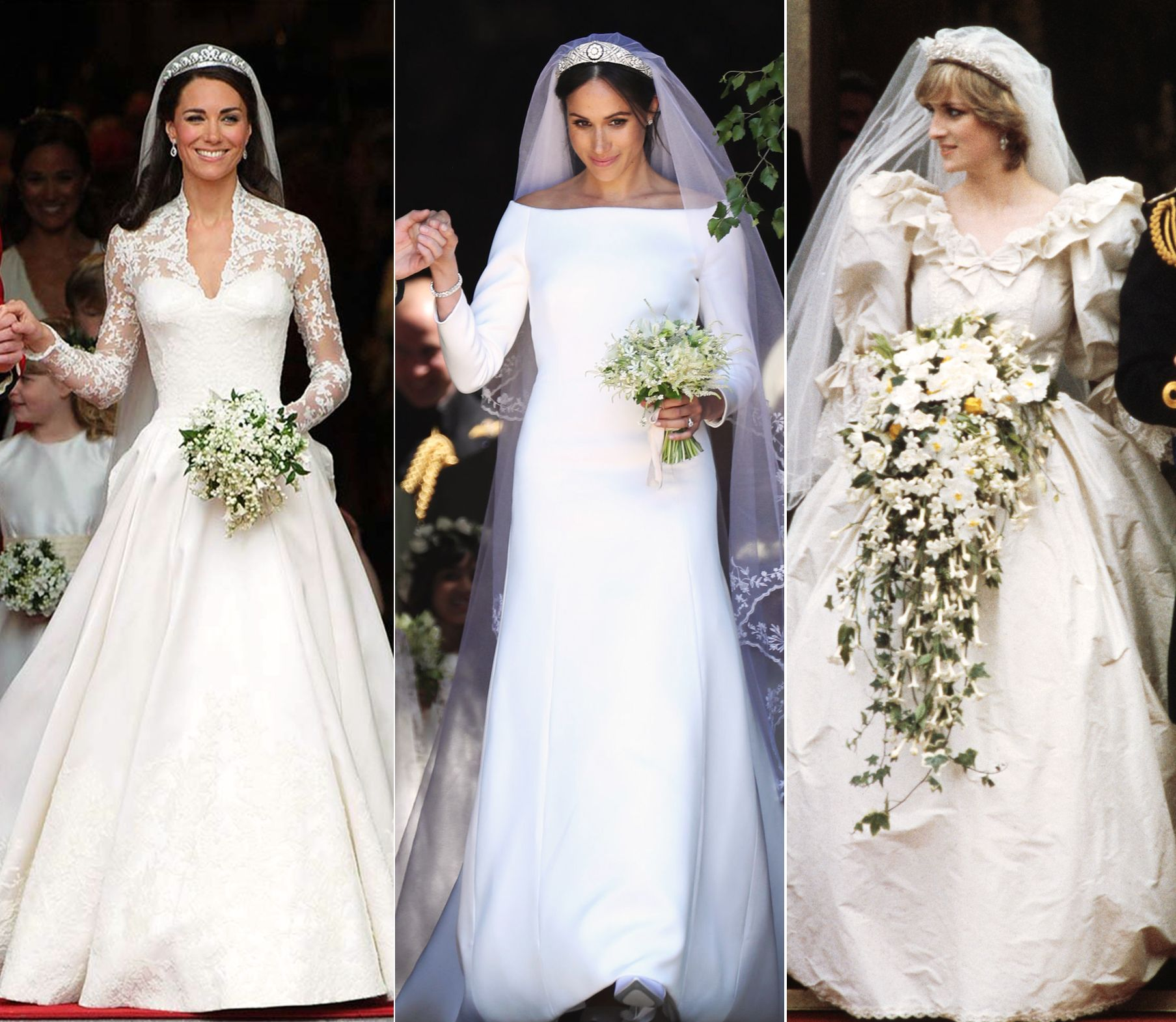 Royal Wedding Dresses Royal Wedding Meghan Kate Diana Royal