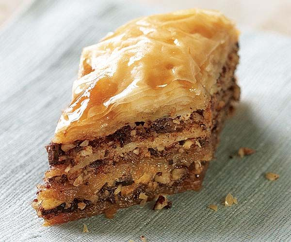 Hazelnut & Chocolate Baklava with Espresso-Frangelico ...