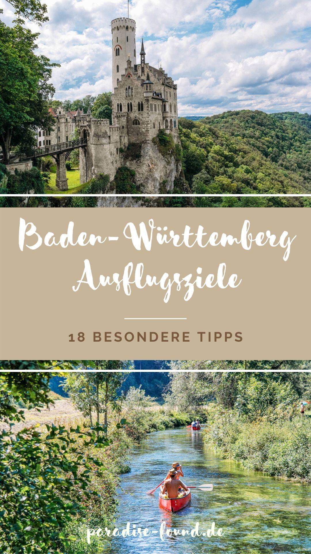 Tolle Tipps für besondere Ausflugsziele in Baden-Württemberg: Schwarzwald, Schwäbische Alb, Schönbuch und um Stuttgart, die Du nicht verpassen solltest!