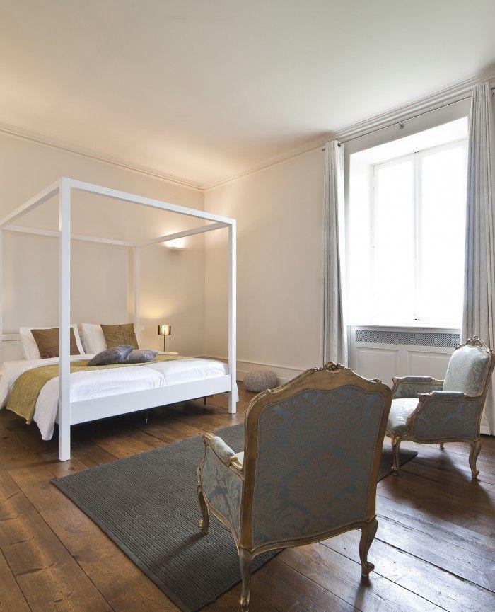 Chateau de Redon #room #king #queen #suite #castle