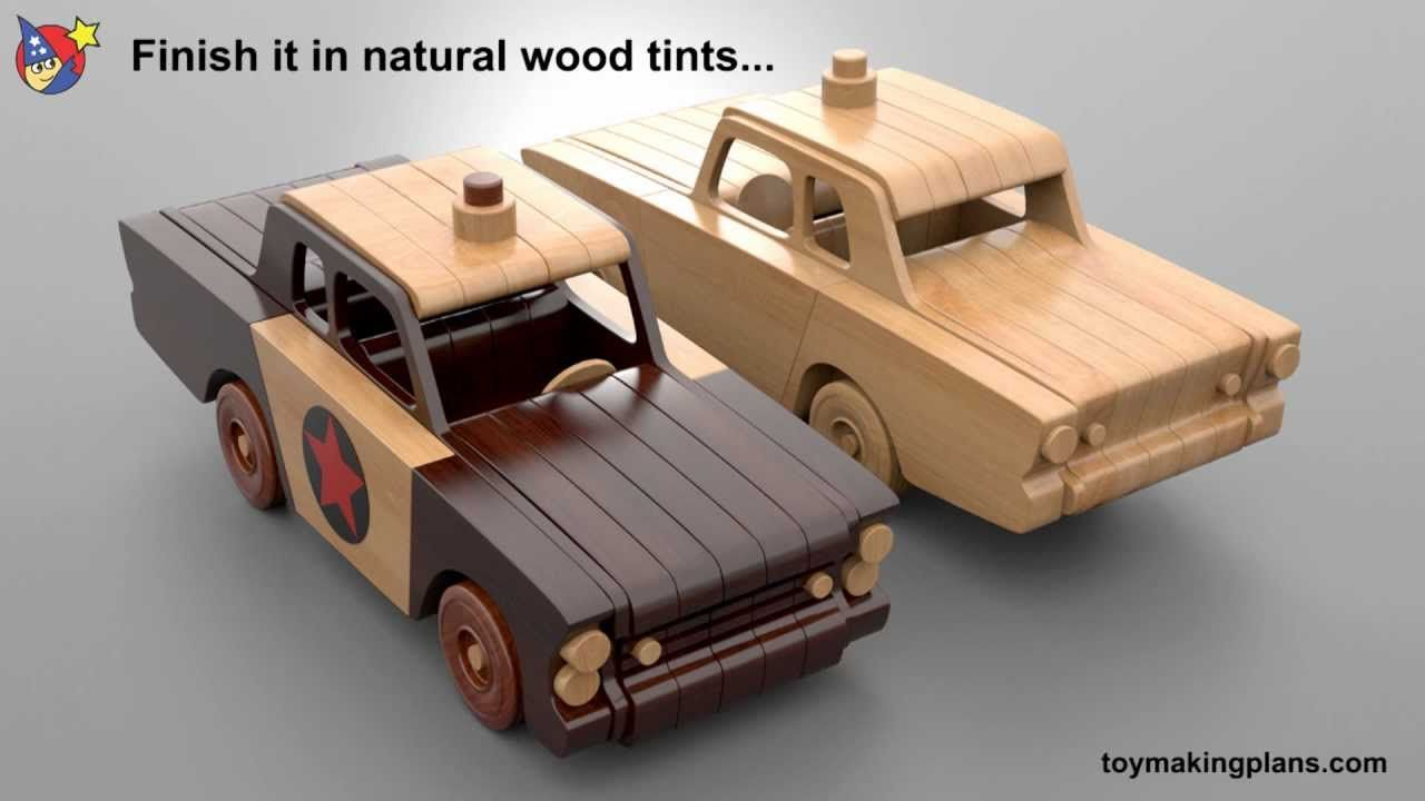wood toy plans mayberry police car