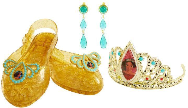 DISNEY Elena of Avalor Adventure Shoes /& Tiara-PRINCESS COSTUME ACCESSORIES-LOT