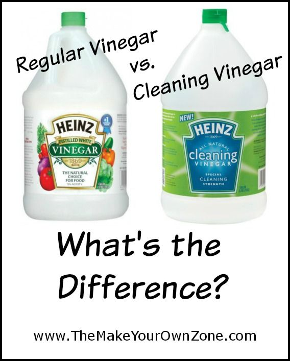 Should You Buy Cleaning Vinegar For Homemade Cleaners? - Learn more about the difference between regular vinegar and cleaning vinegar