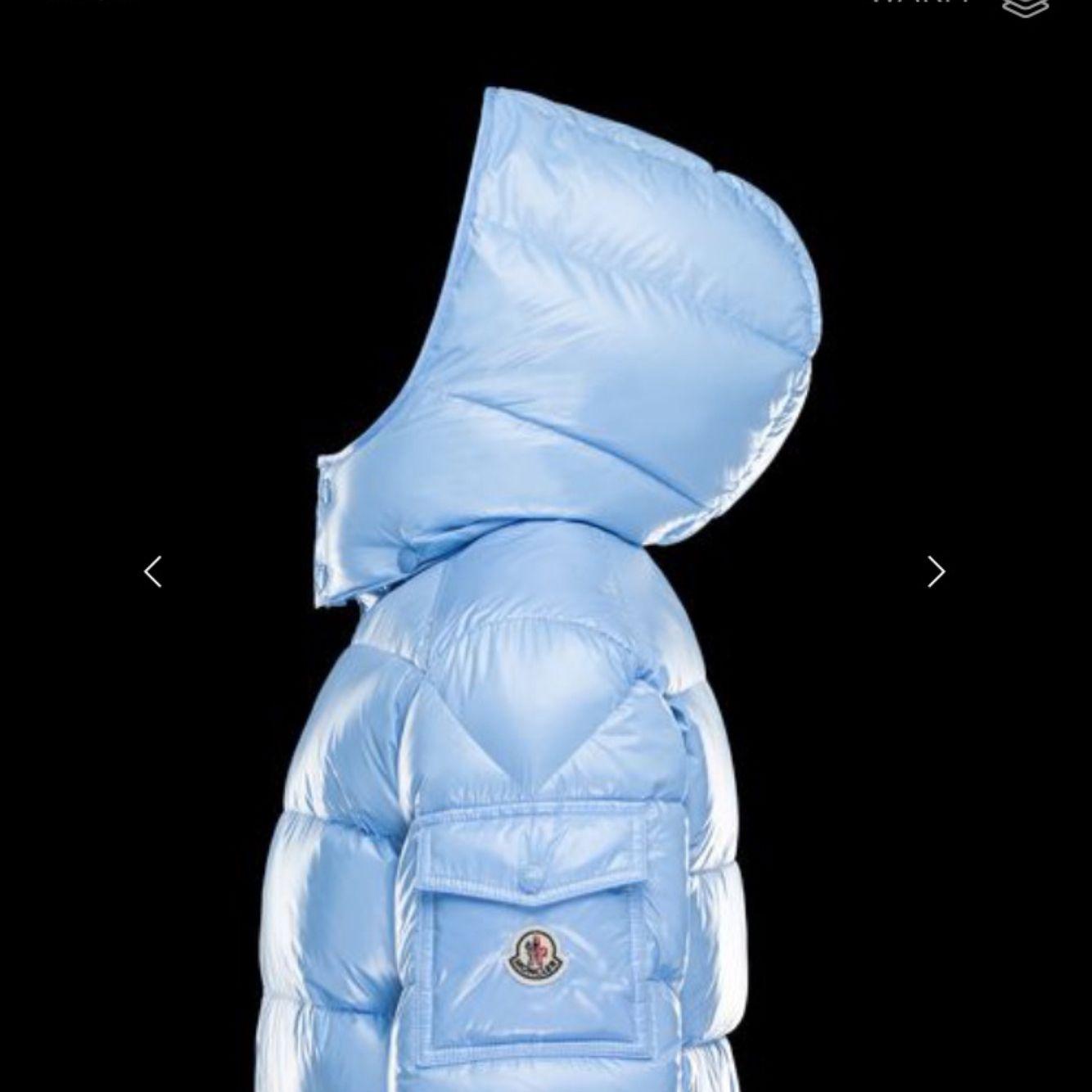 moncler baby blue maya