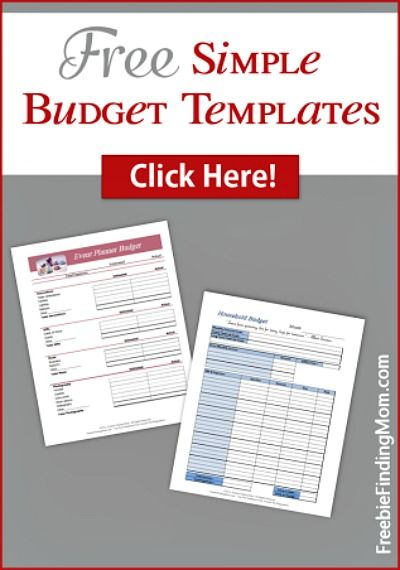 29 free home organization printables simple budget templatebudget