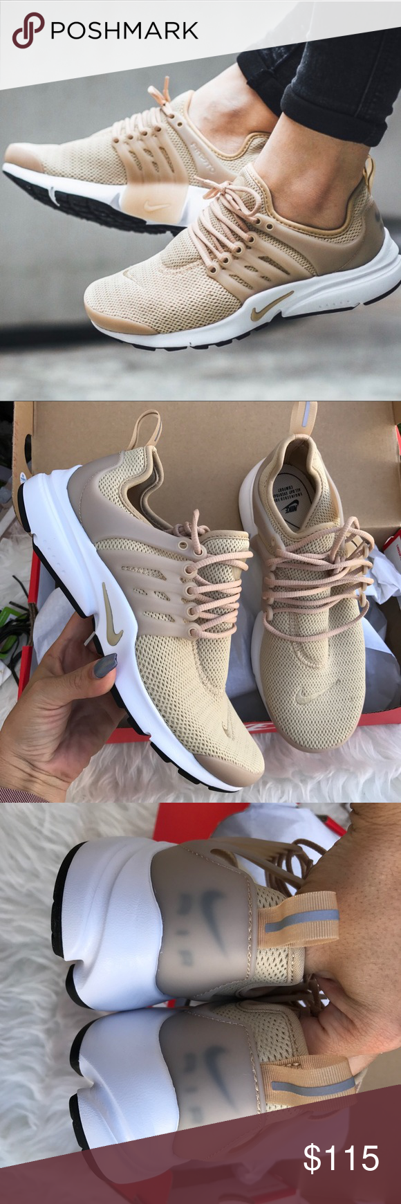 huge selection of 478df 97358 NIKE AIR PRESTO LINEN LIMITED EDITION COLOR Sz 7 NIKE AIR PRESTO LINEN COLOR  SOLD OUT Sz 7 new 100% authentic! Itemcloset seize Nike Shoes