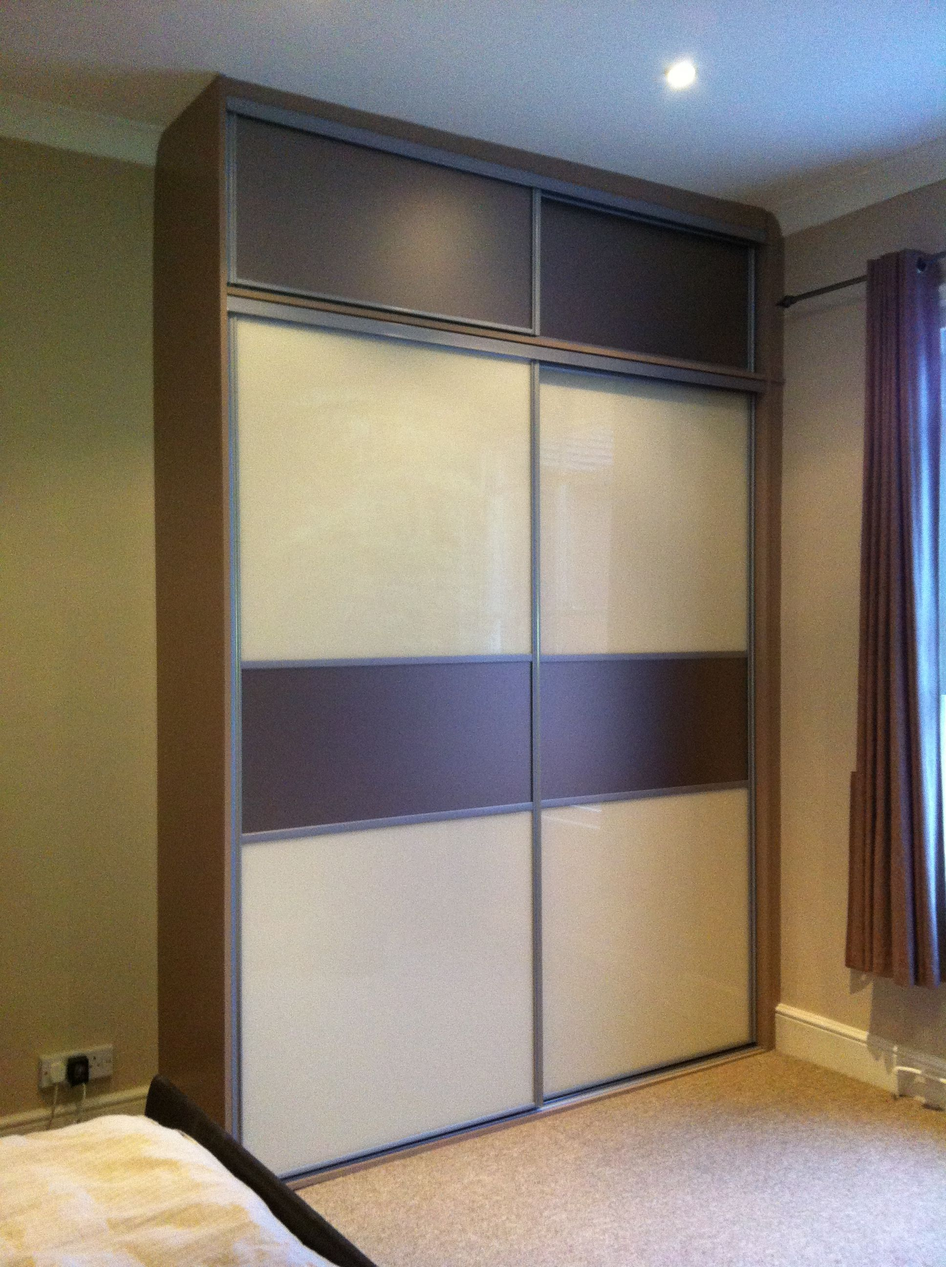 One Of Our Bespoke Sliding Door Wardrobes, Our Brand Of