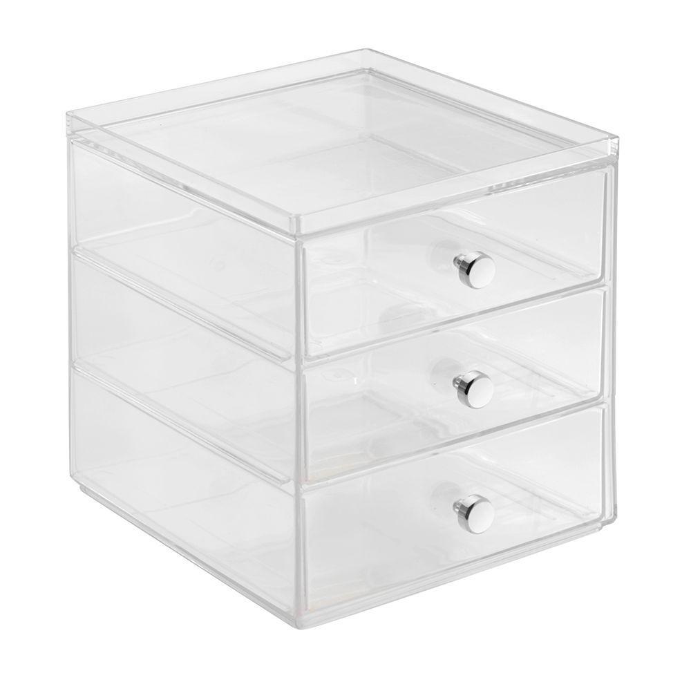 Interdesign Clarity 3 Drawer Coffee Pod Organizer In Clear 36298