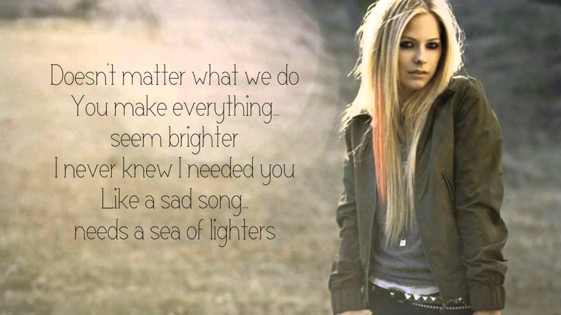 Avril Lavigne Falling Fast Lyric On Screen Hq New Song 2013 Fast Lyrics Avril Lavigne Songs 2013