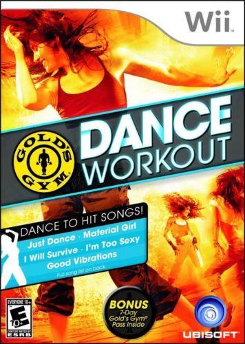 Nintendo Wii Gold S Gym Dance Workout Video Juego Videos Juegos