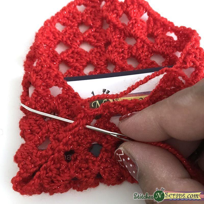 Photo of Free Pattern – Granny Square Gift Card Envelope  sew seams – Granny Square Gif…