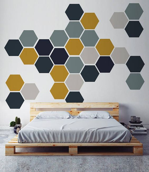45 Creative Wall Paint Ideas And Designs Renoguide Australian Renovation Inspiration Bedroom Painting