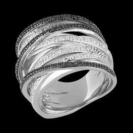 grosse bague or diamant femme