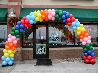cmo hacer arcos con globos decoracin con globos