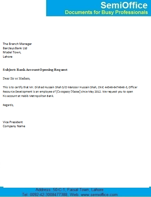 Request letter for salary bank account opening new employees request letter for salary bank account opening new employees internship report general banking division jamuna thecheapjerseys Gallery
