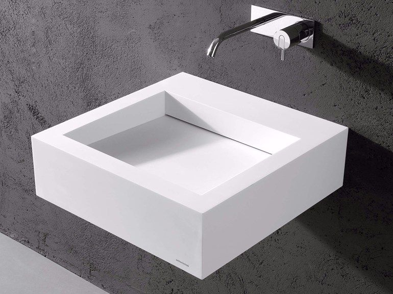 Lavabo in corian® slot by antonio lupi design® design nevio tellatin
