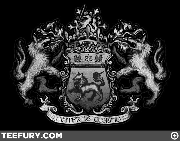 Stark Family Crest (Game of Thrones) A song of ice and