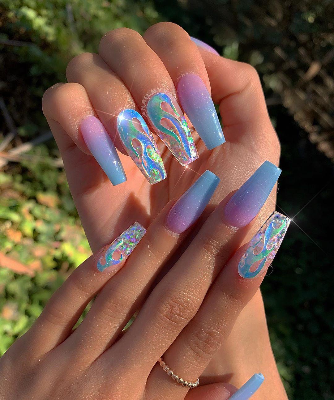 """VAN🌈🎨💅 on Instagram: """"#nailart #nailsofinstagram #nailsonfire #nailsonfleek #nail #nail_me_good_ #Instagram #Nail #nailart #naildesigns #nailmegood #nailpro #Nails #nails arcylic #nails cute #nails dark #nails natural #nails spring #nailsfordays #nailsofinstagram #nailsonfire #nailsonfleek #post #profile #TheGlitterNail #VANs"""