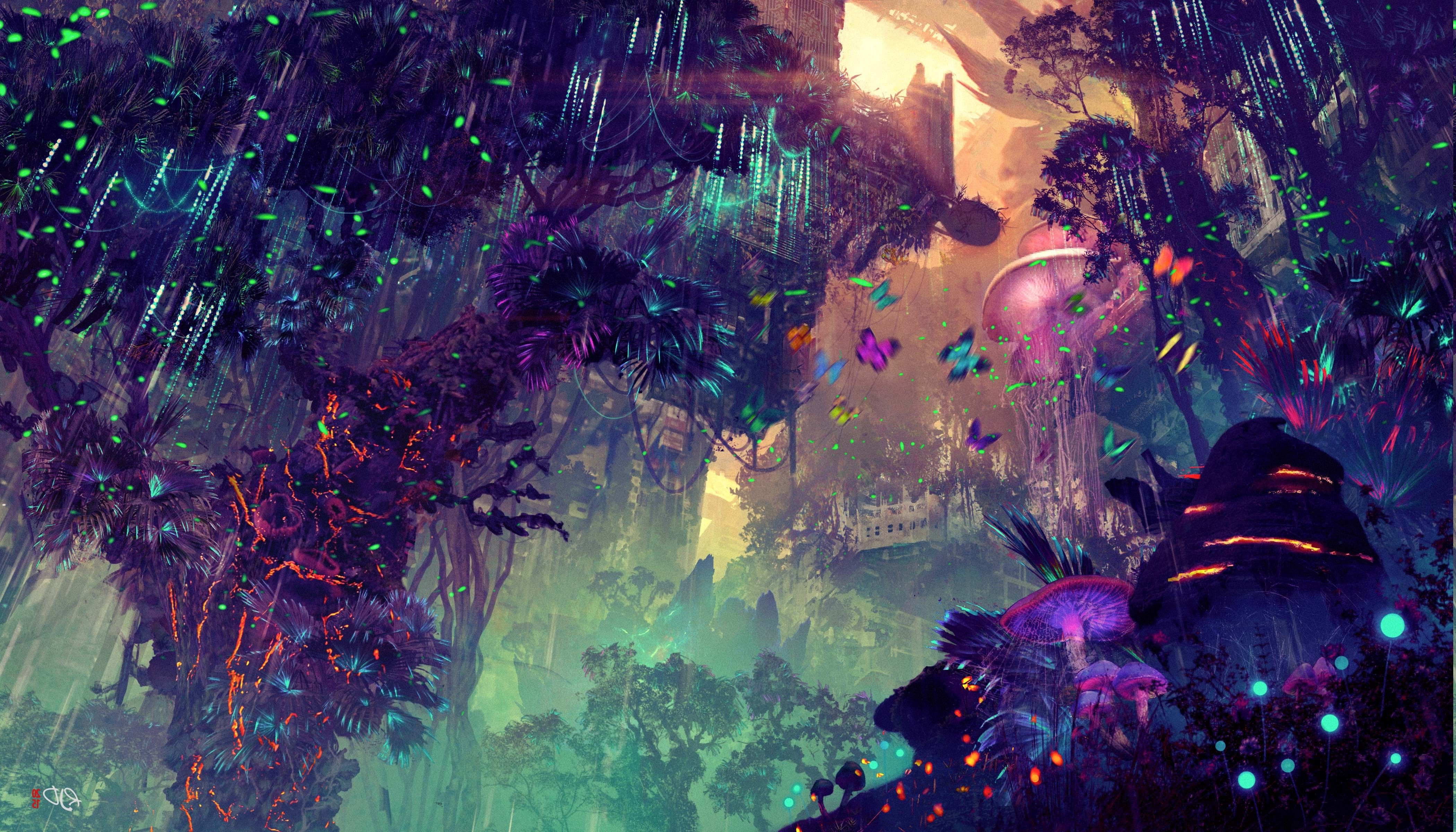 Pictures Of Forests Google Search With Images Fantasy Art