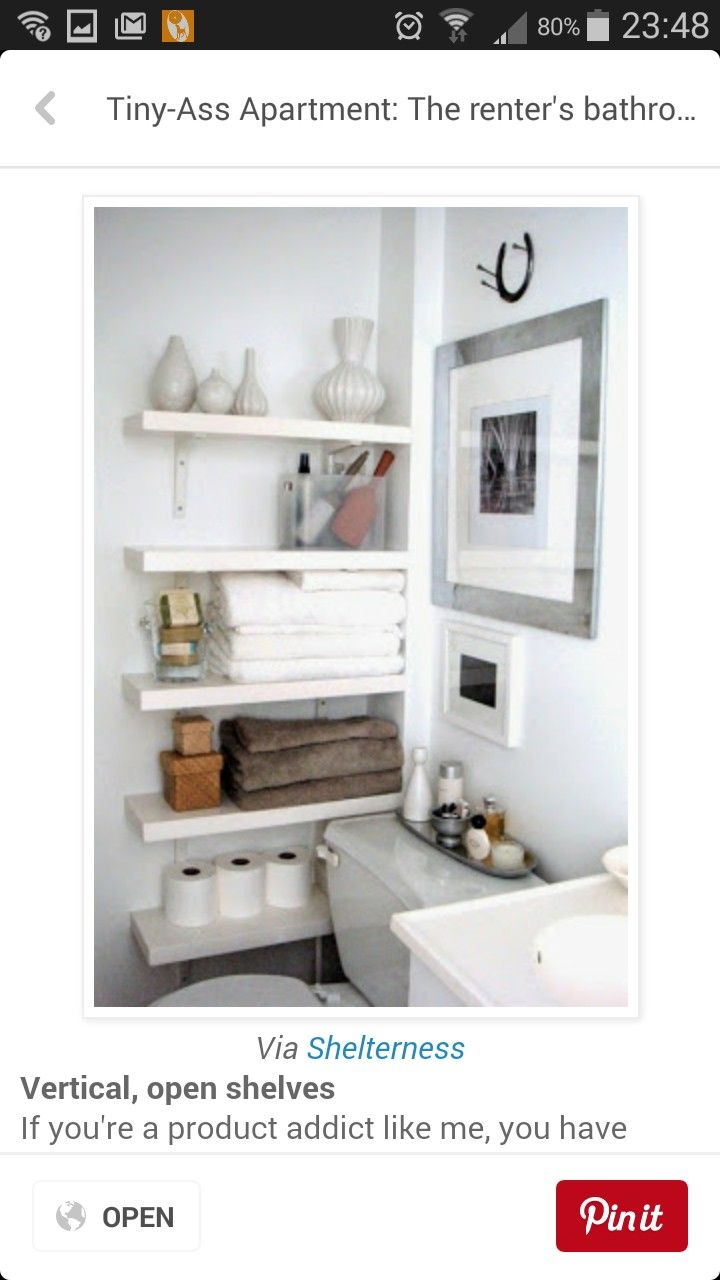 Pin by Christina Reseigh on Bathrooms | Pinterest