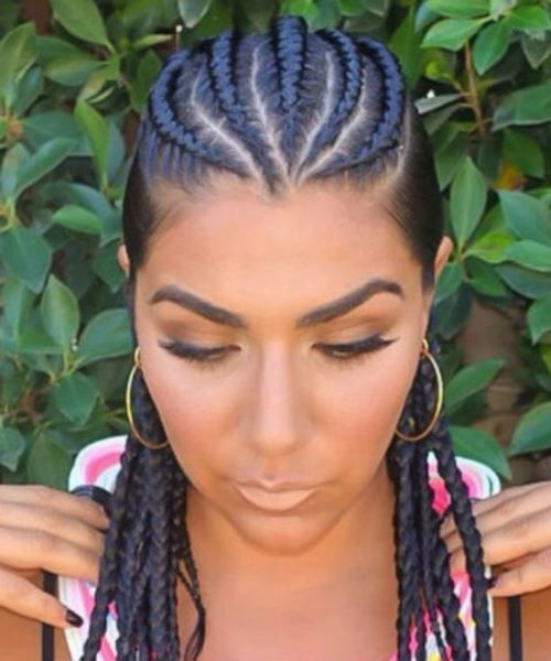 Cornrow Braids Hairstyles | Braids | Pinterest | Cornrow, Plait ...