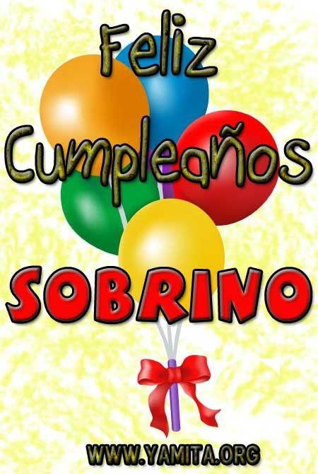 Felicidades Querido Sobrino Cumpleaños Happy Birthday Quotes