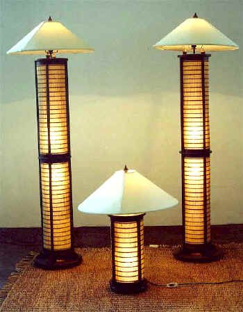 Asian style floor lamps images 771
