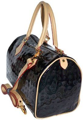 3519c14638 Arcadia Italian Patent Leather Handbag. Merry Christmas to me ...