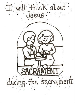 lds nursery color pages 40 the sacrament helps me think about