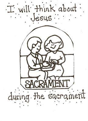 Lds Nursery Color Pages 40 The Sacrament Helps Me Think About Jesus Lds Nursery Lds Kids Sacrament