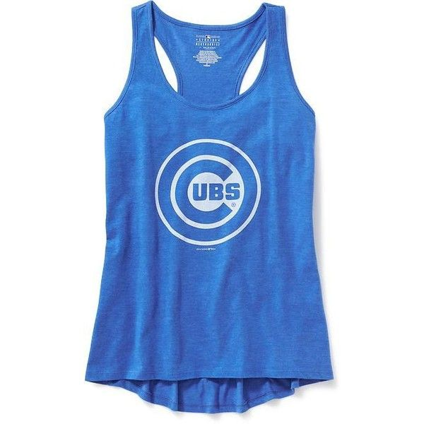 a39039c3045a9 Old Navy MLB Team Racerback Tank For Women ( 20) ❤ liked on Polyvore  featuring