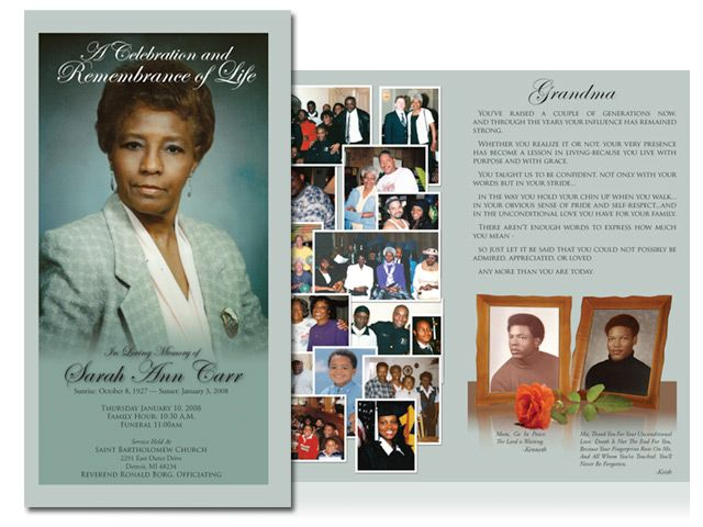 Obituary Design Obituary design and layout using Photoshop and - death announcement templates