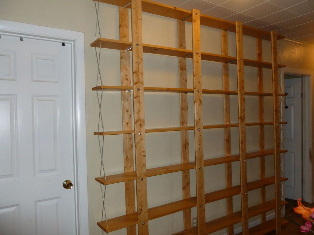 Homemade Bookshelf Ideas cheap, easy, low-waste bookshelf plans | shelving, wood
