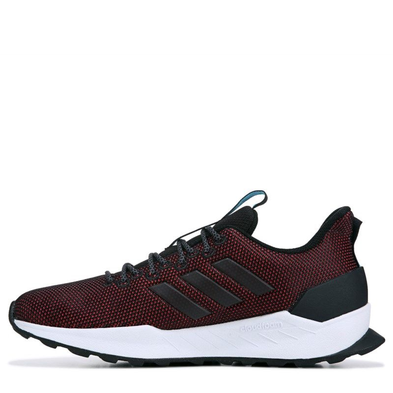 online store 09f13 e8e2e Adidas Men s Questar Trail Running Shoes (Black Red)