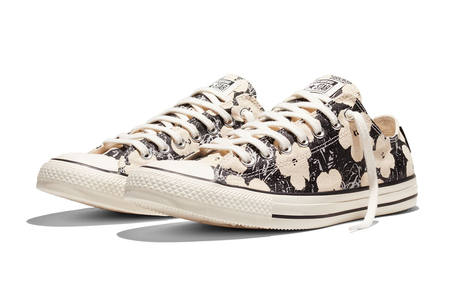 fc93669a7bf8d3 Converse returns with a new collection of footwear and apparel featuring  artwork by Andy Warhol.