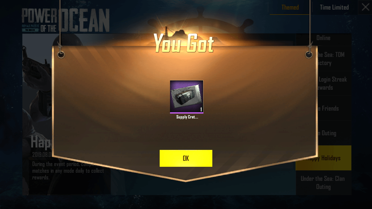 Pubg Mobile Supply Crate Coupon Pubg Play Hacks Holiday