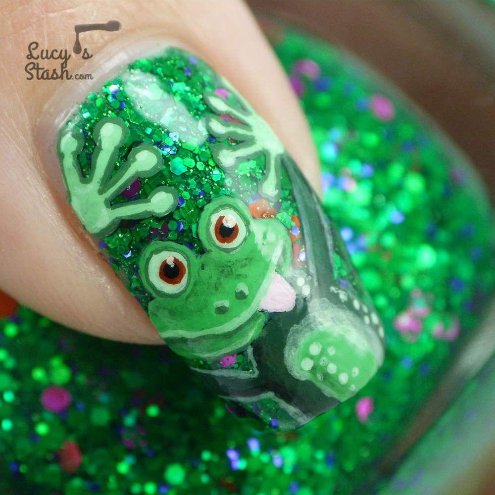 Cheeky frog nail art design feat femme fatale noble garden the cheeky frog nail art design feat femme fatale noble garden prinsesfo Images