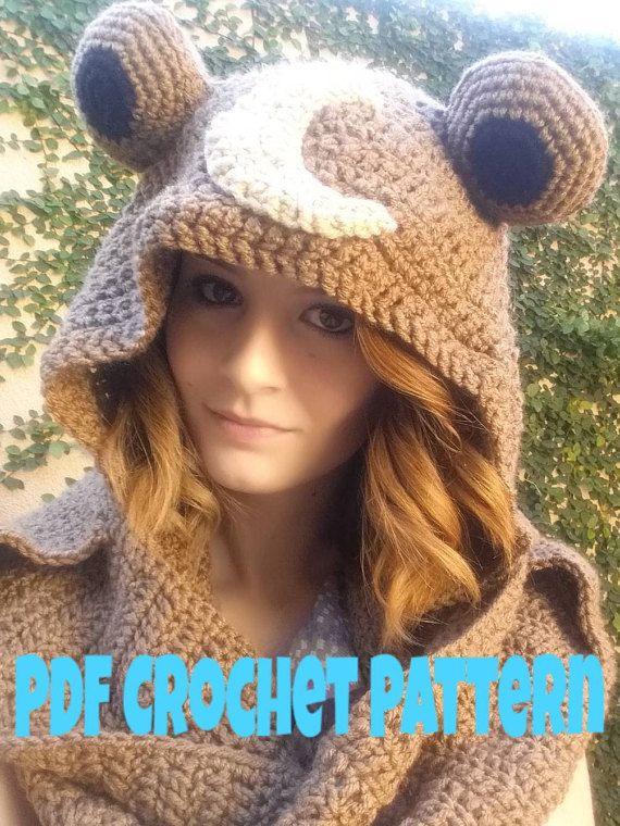 PDF Scoodie Crochet Pattern by notyourgrandmashop on Etsy | Crochet ...