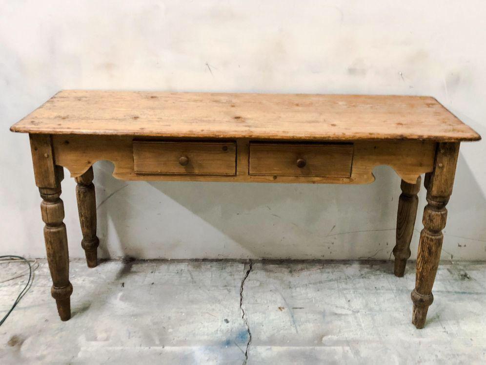 Antique French Pine Console Table Antique Console Table Antique