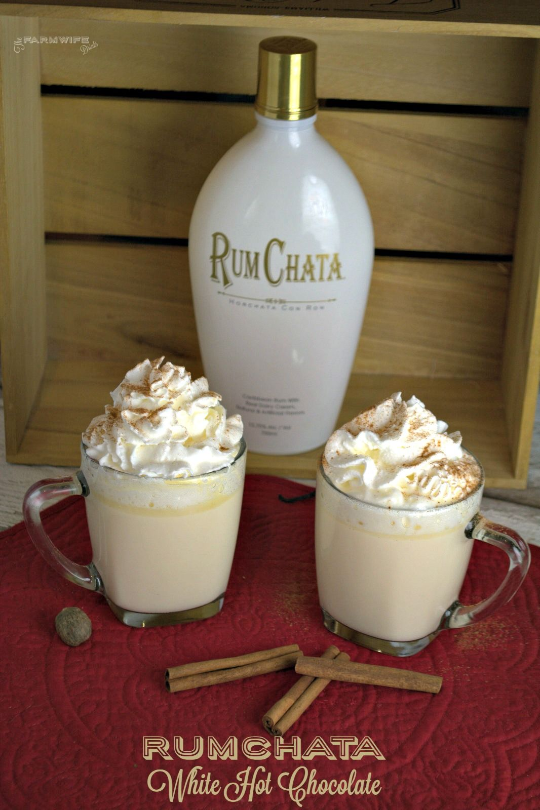 Baileys and Peppermint Schnapps. | The perfect hot chocolate is ...