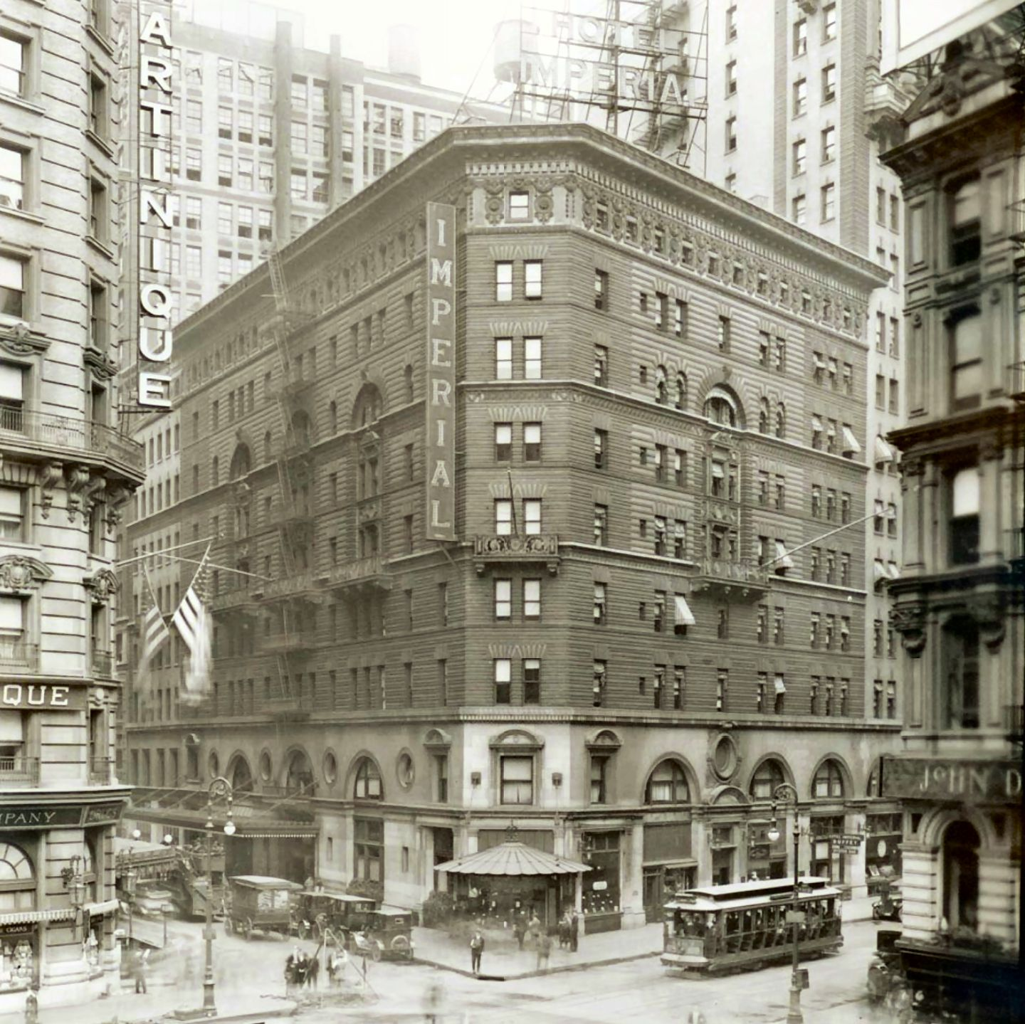 Hotel Imperial Broadway At 32nd Street New York City 1921 New York City Buildings New York City Manhattan Vintage New York