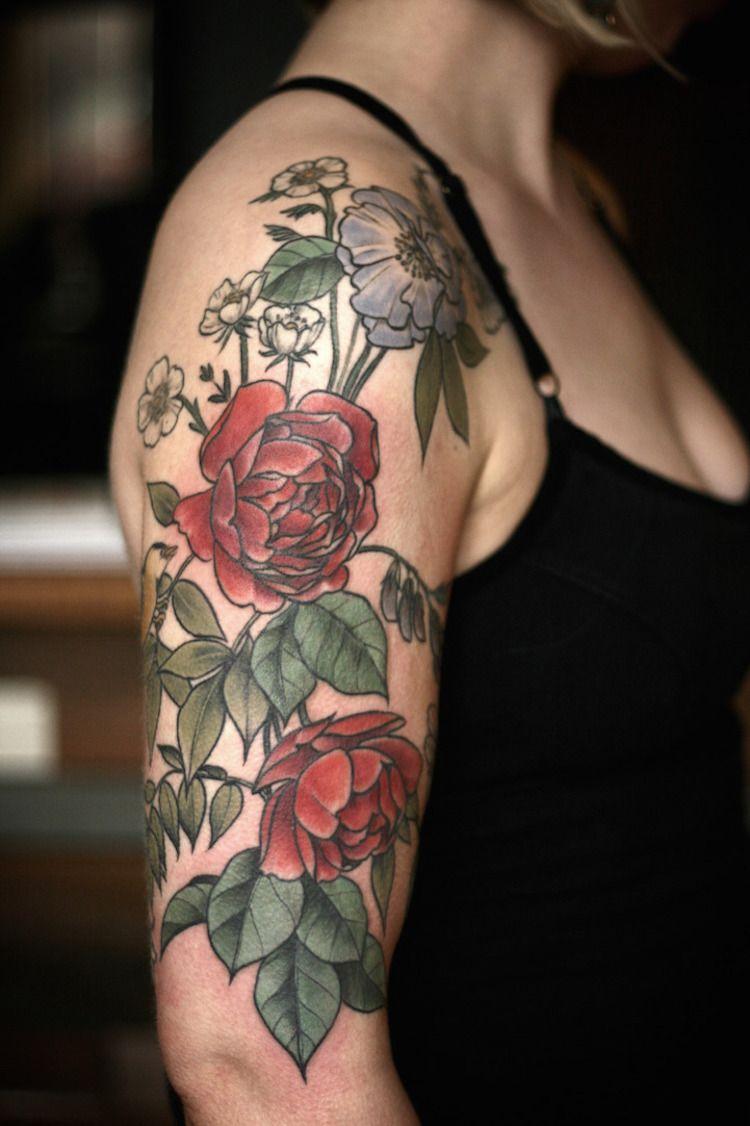 dallas tattoo artists flowers