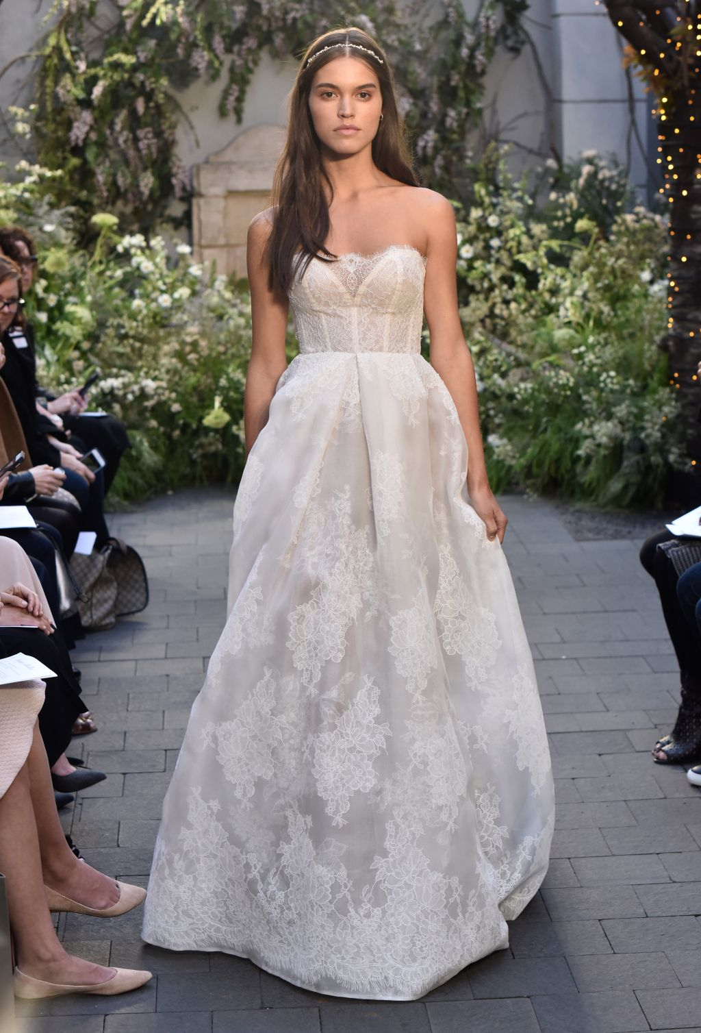 Monique Lhuillier Bridal Spring 2017 | #BridalFashionWeek #WeddingDress [Photo: Rodin Banica]
