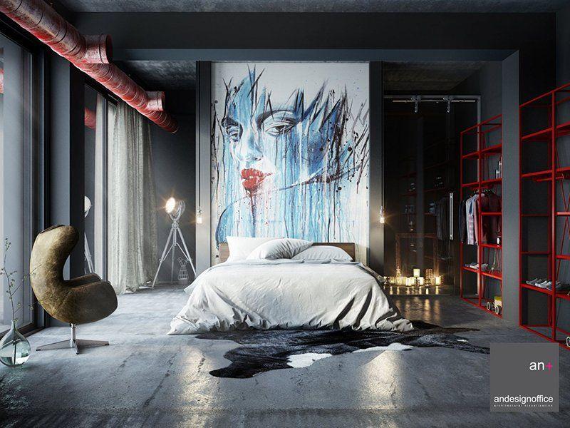 22 Mind Blowing Loft Style Bedroom Designs Loft Design Bedroom