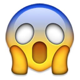 Face Screaming In Fear Emoji U 1f631 U E107 Emoji Legal Produtos Emoji Emojis